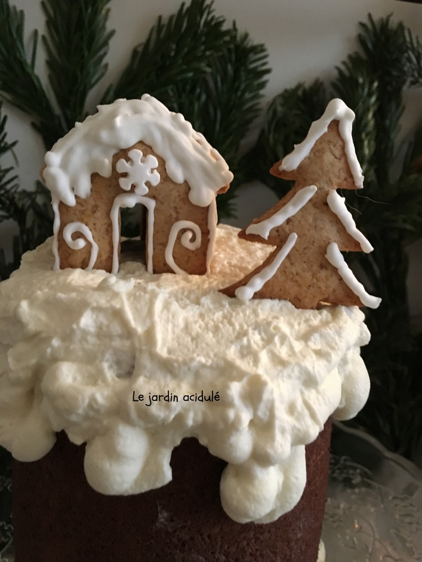 bûche de Noël chocolat mascarpone