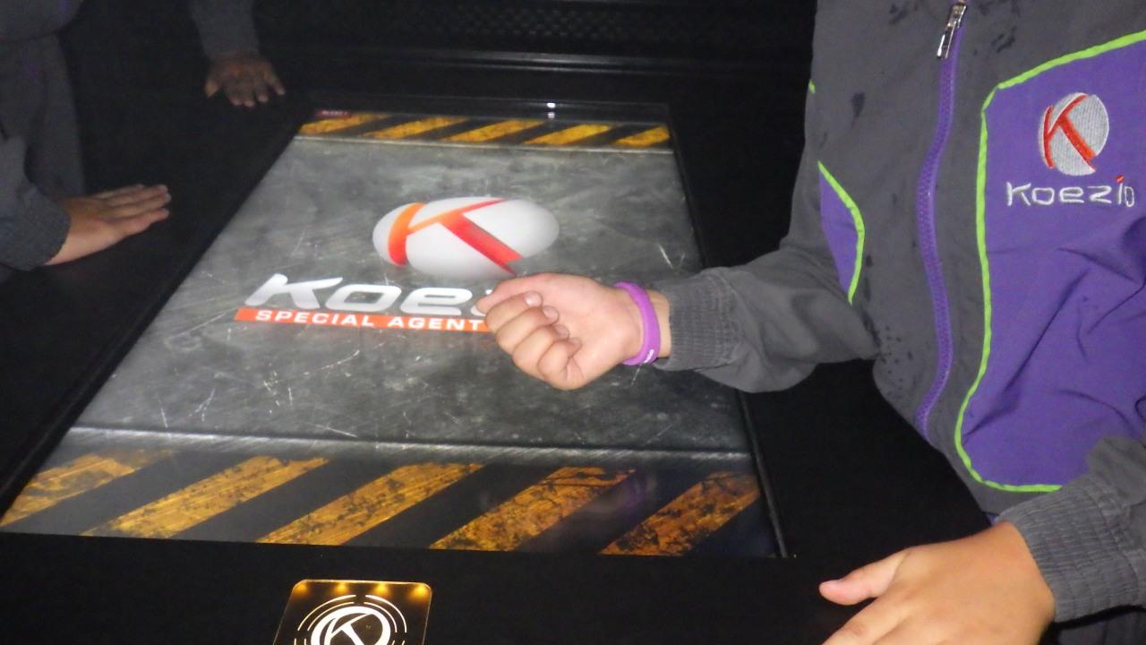 table tactile Koezio