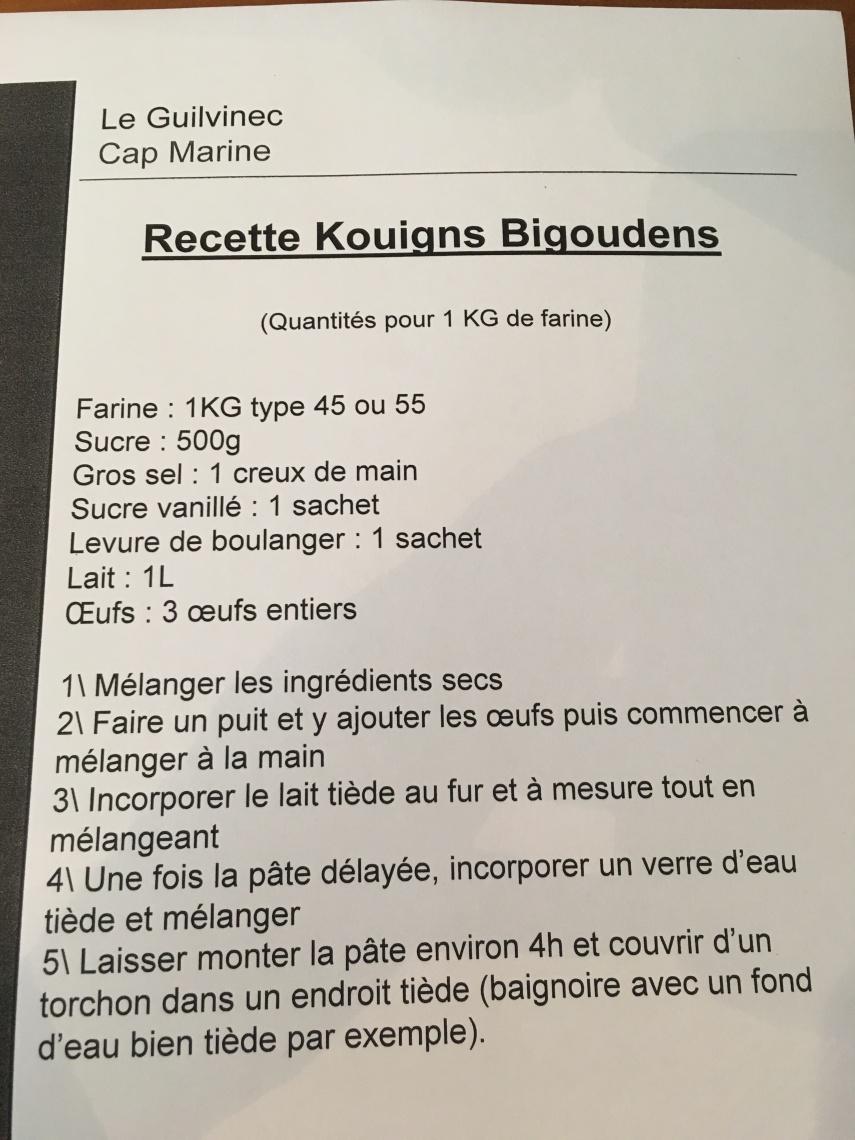 Recette Kouigns