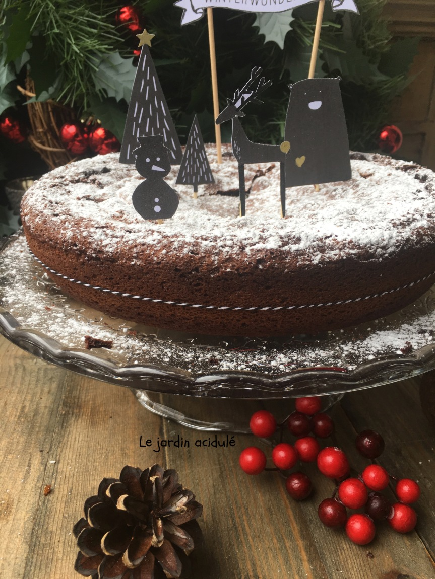 Gâteau chocolat moelleux 1