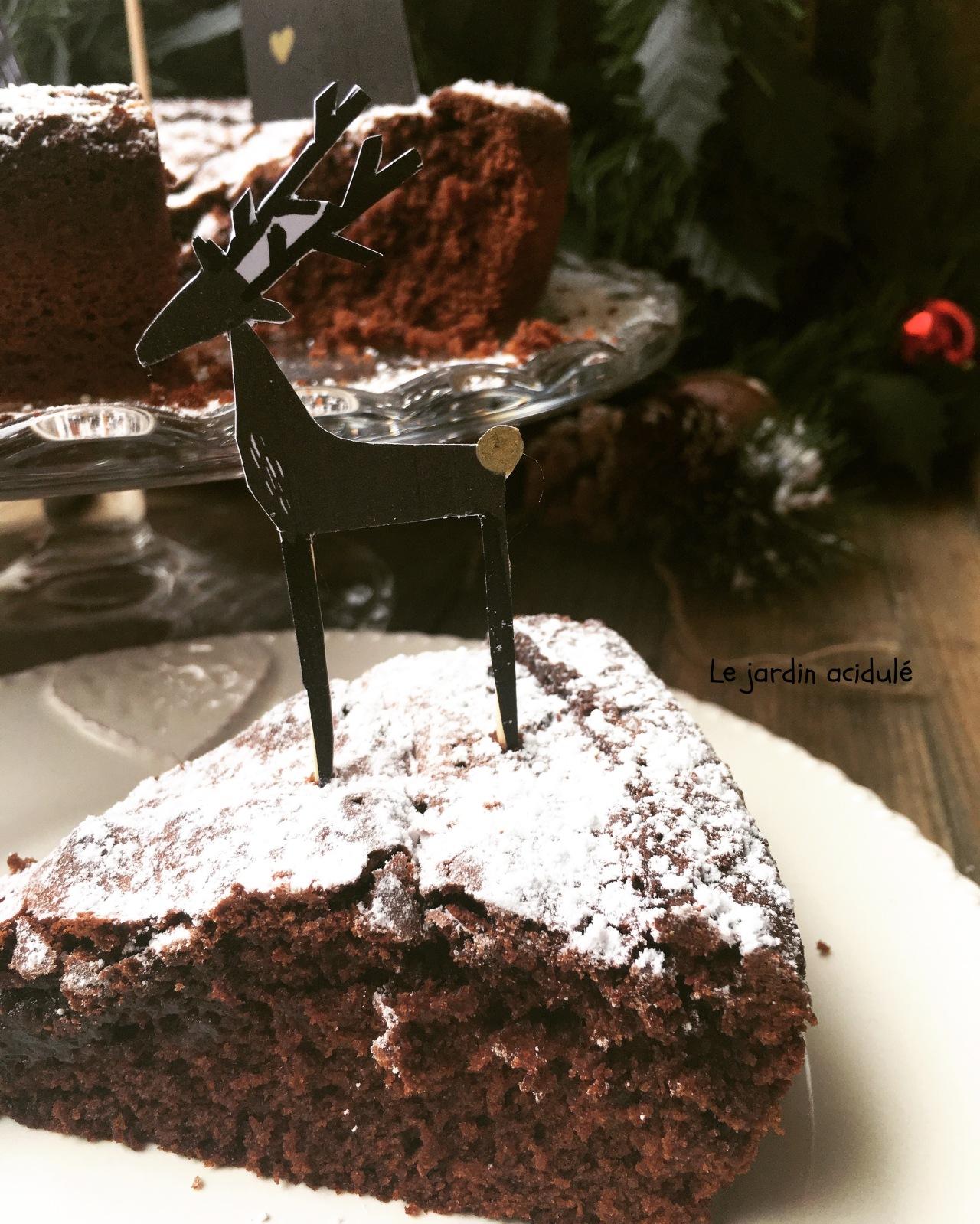 Gâteau chocolat moelleux 7