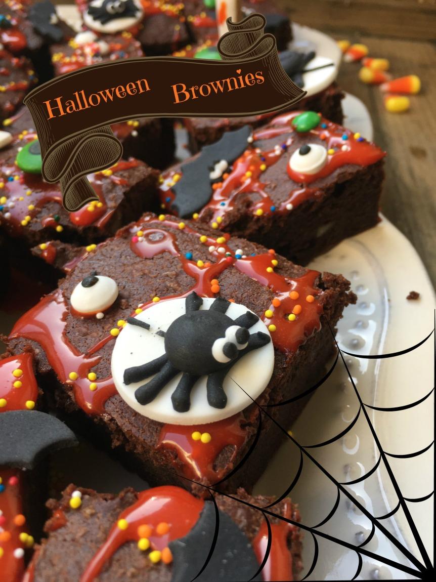 Halloween Brownies 2