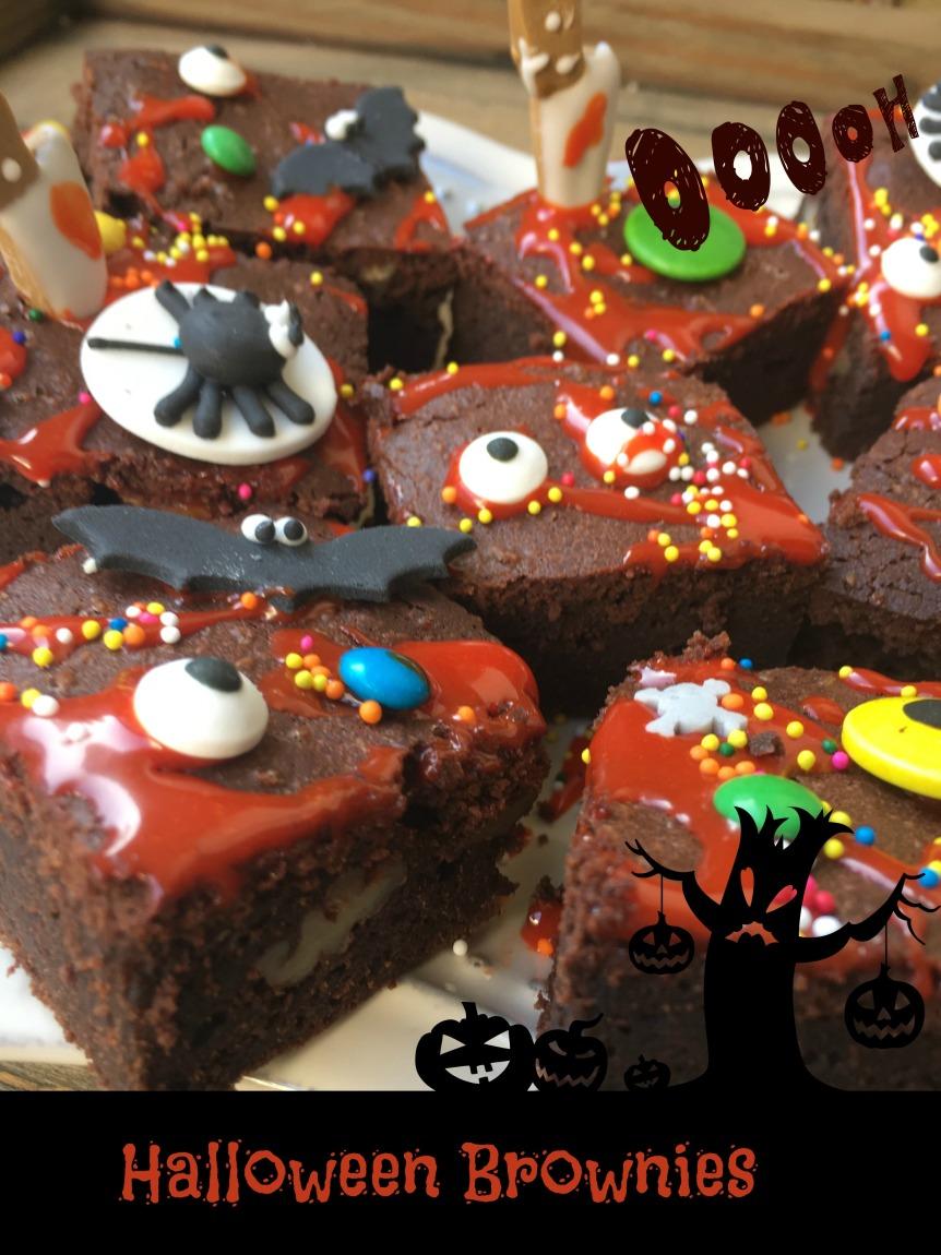 Halloween Brownies 3