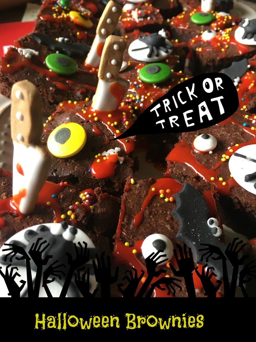 Halloween Brownies 4