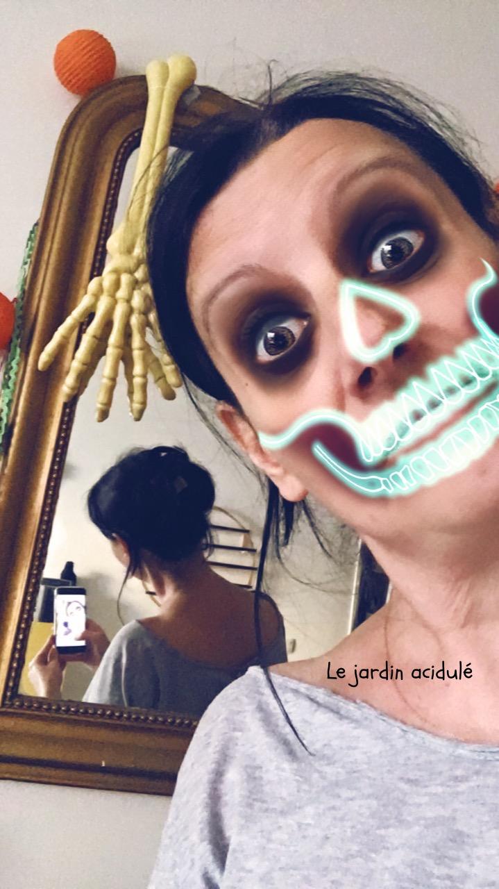Halloween makeup 1