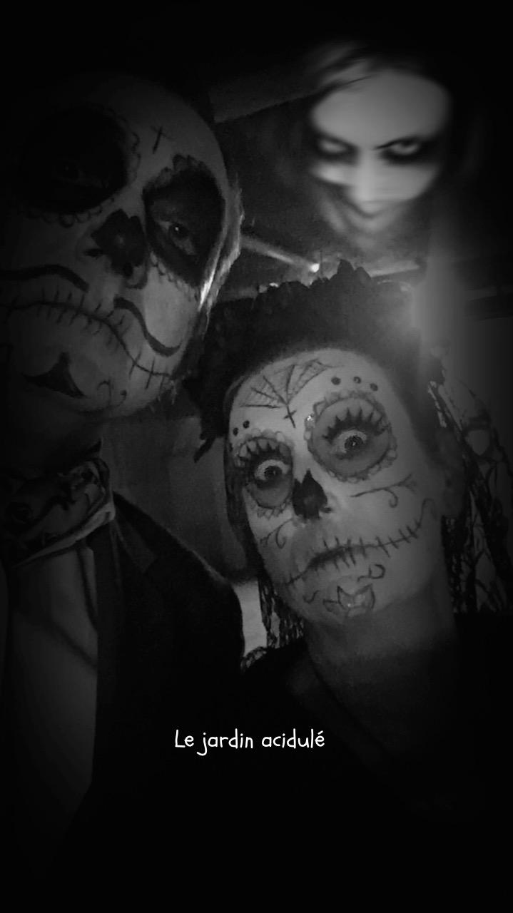 Halloween makeup 9