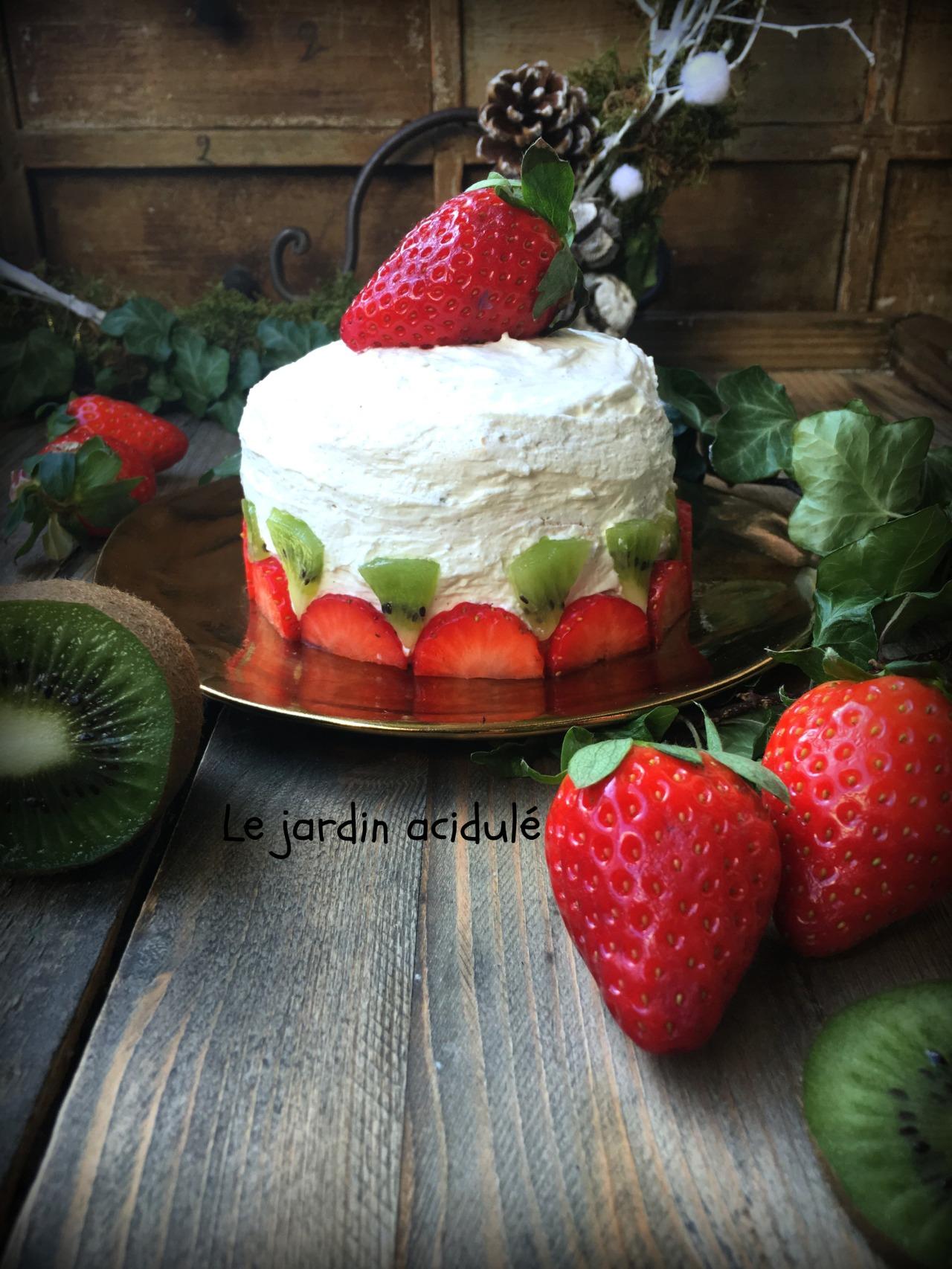Gâteau de crêpes aux fruits 3