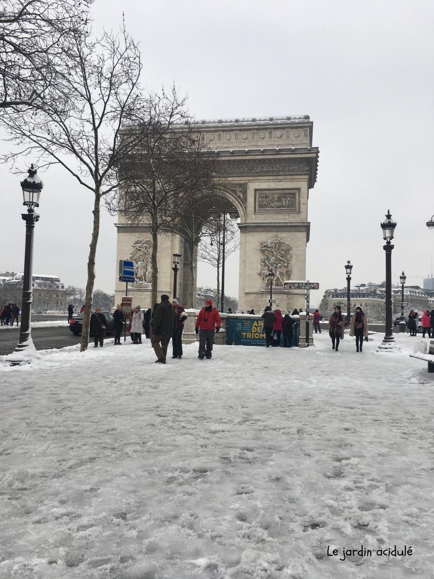 Paris neige 1
