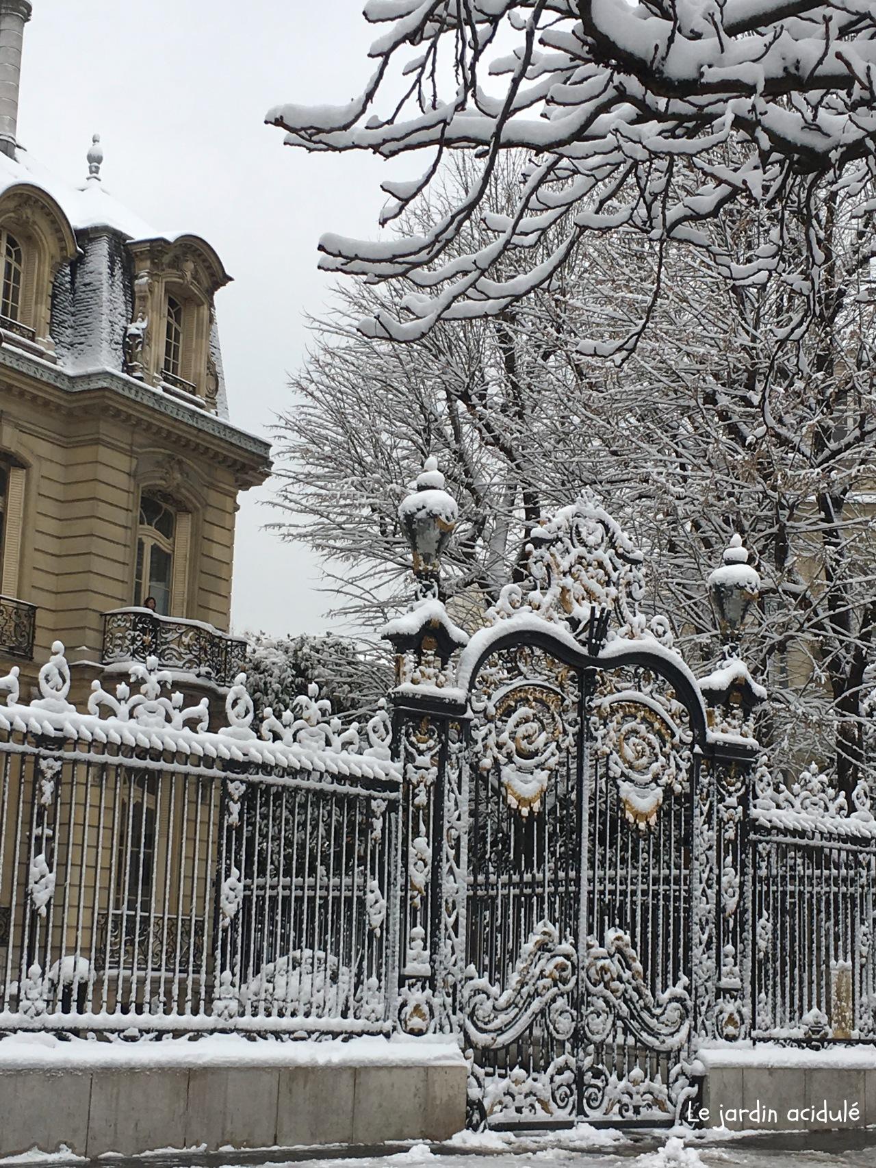 Paris neige 10