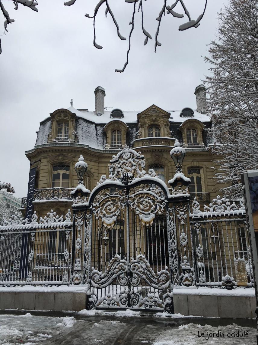 Paris neige 8