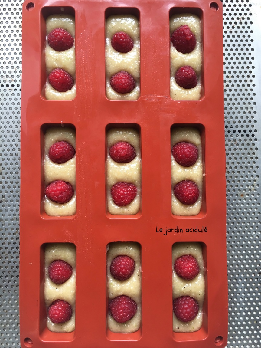 Financiers framboises 5