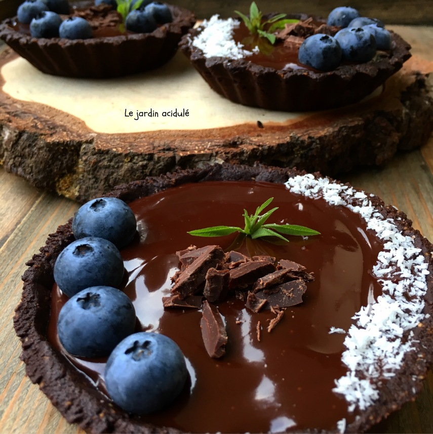Tarte chocolat myrtilles 2