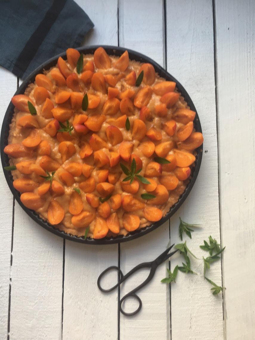 Tarte aux abricots 1