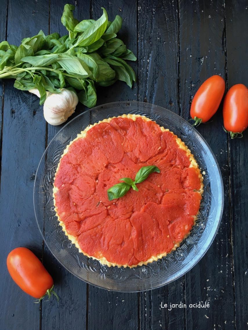 Tarte tatin à la tomate 7